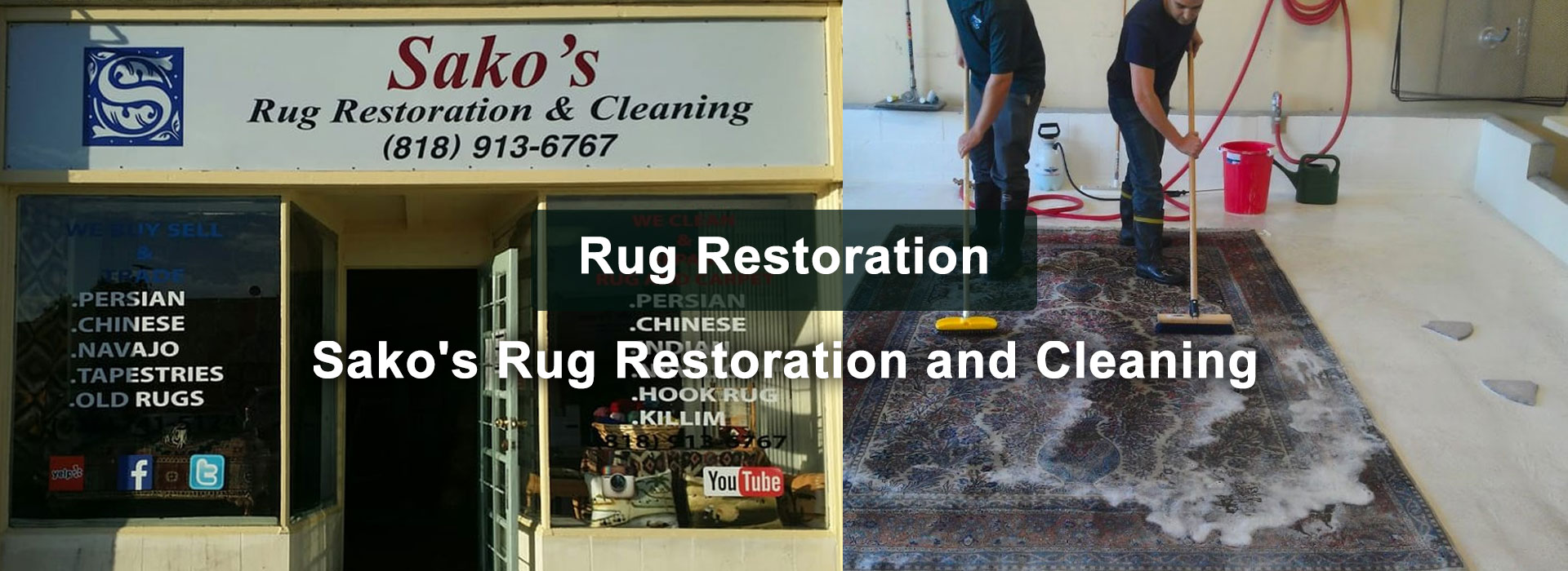 Sako's Rug Restoration & Cleaning